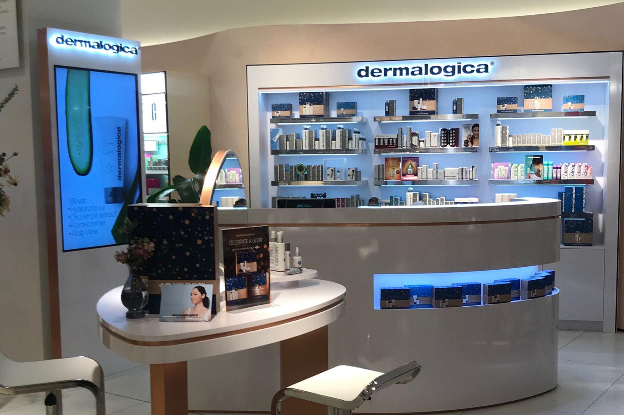 Dermalogica Counter - Bijenkorf Maastricht